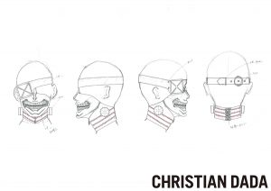 03 CHRISTIANDADA design kaneki mask