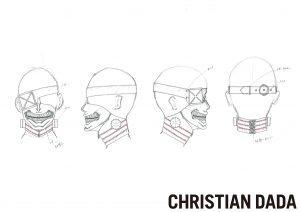 03 CHRISTIANDADA design kaneki mask